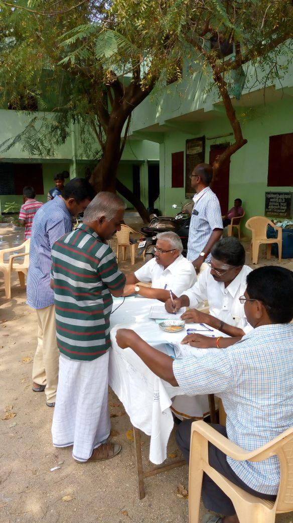 11-02-2018 Free Medical Camp at Komarapalayam