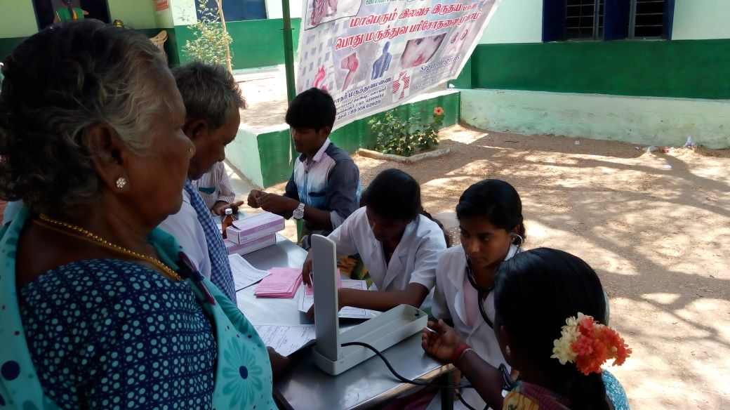 22-04-2018 Free Medical Camp at Mathur