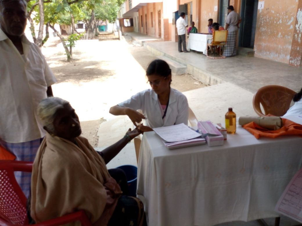Free medical Camp at Valempatti, Date:19-05-2018