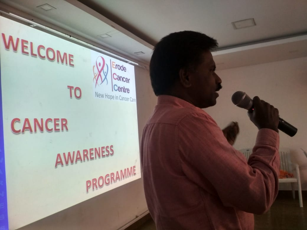 Cancer awareness program in Central Lions club, Veerappanpalayam (5)
