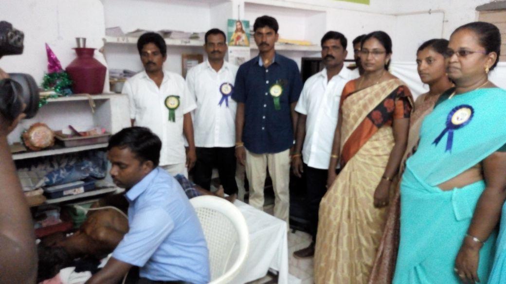 Free Medical Camp at Kattinayanapalli. Date: 06-05-2018