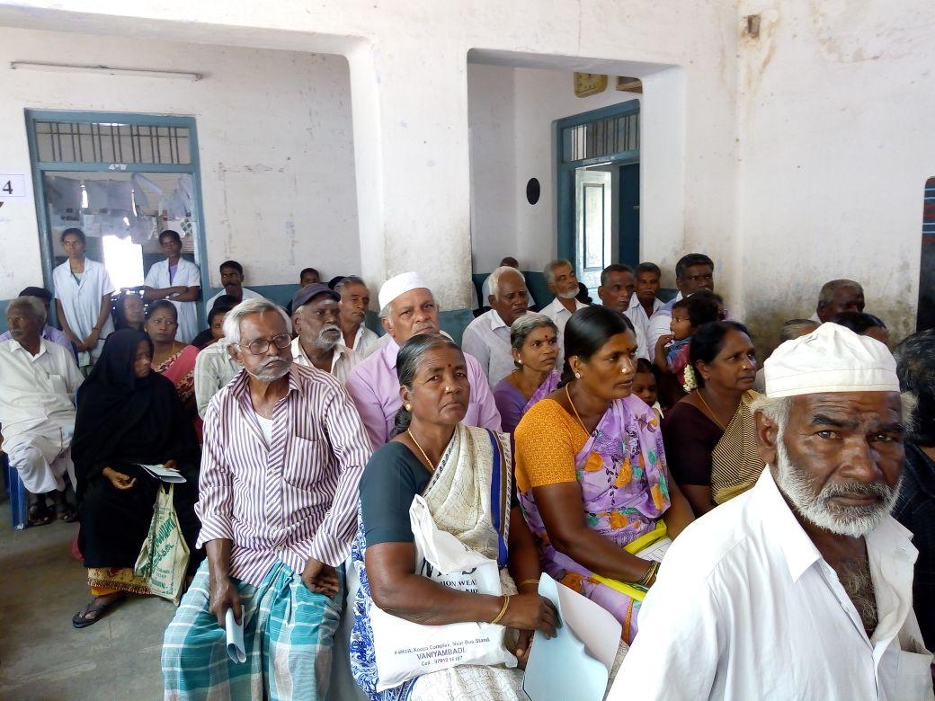 13-05-2018  Free medical Camp at Vaniyambadi