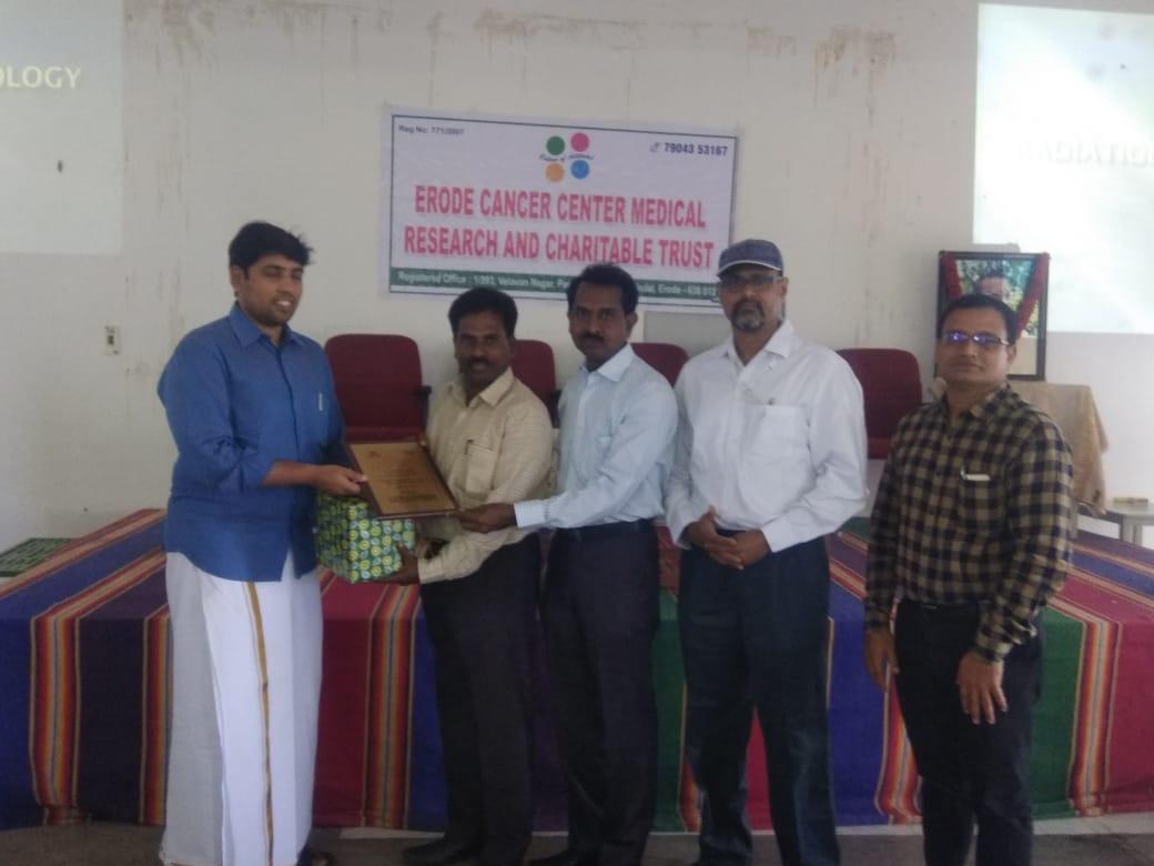Awareness speech in JKK dental college2