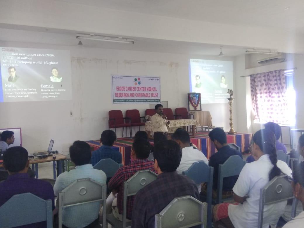 Awareness speech in JKK dental college3