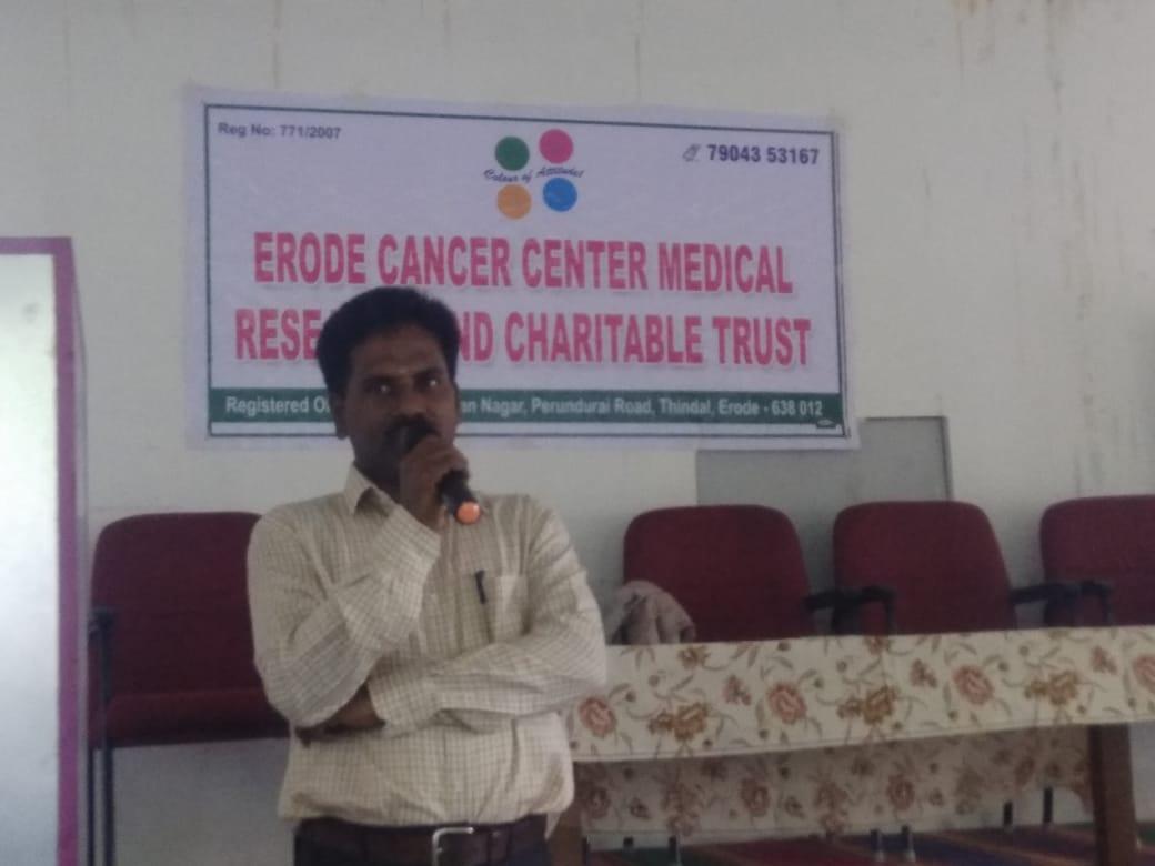 Awareness speech in JKK dental college4