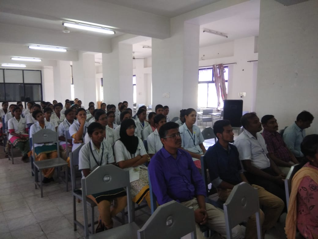 Awareness speech in JKK dental college9