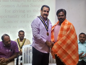 Cancer-awareness-program-in-Central-Lions-club,-Veerappanpalaya